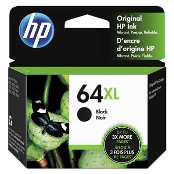 64XL Ink Cartridge, Black (N9J92AN)