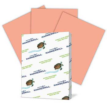 Hammermill® Fore MP Bond Paper, Letter, 24#, Salmon