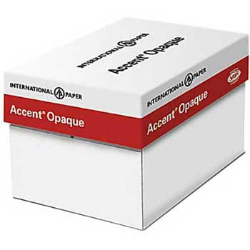 """Accent® Opaque Smooth Cover, White, 11"""" x 17"""", 100 lb., 800/CT"""