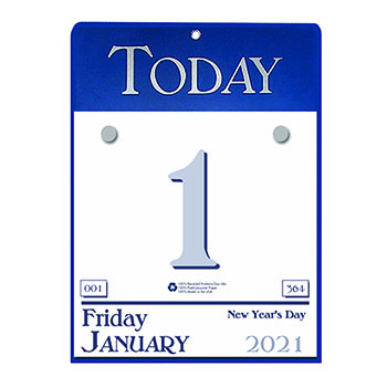 """House of Doolittle™ Recycled Today Wall Calendar, 6 1/2"""" x 9"""", 2021"""