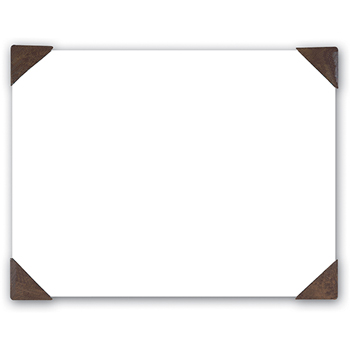 House of Doolittle™ 100% Recycled Doodle Desk Pad, Unruled, 50 Sheets, Refillable, 22 x 17, Brown