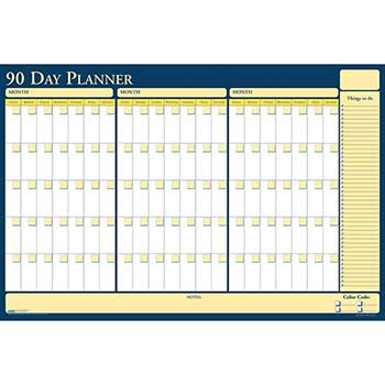 House of Doolittle™ 100% Recycled Nondated Reversible Laminated Planning Board, 90/120 Day, 36 x 24