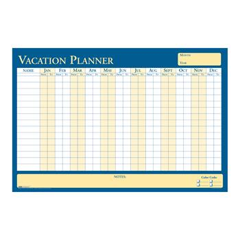 House of Doolittle™ 100% Recycled All-Purpose/Vacation Plan-A-Board Planning Board, 36 x 24