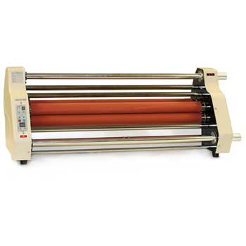 "27 Roll Laminator, Adjustable Temperature and Speed Control, 30.5"" x 17.7"" x 14.2"""