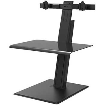 Humanscale Quickstand Eco, Dual Monitor, Black