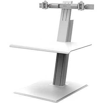 Humanscale Quickstand Eco, Dual Monitor, White