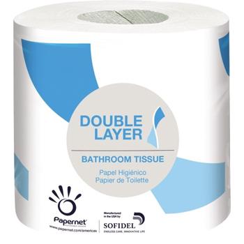 Bathroom Tissue, 2-Ply, 500 Sheets/Roll, 48/CT