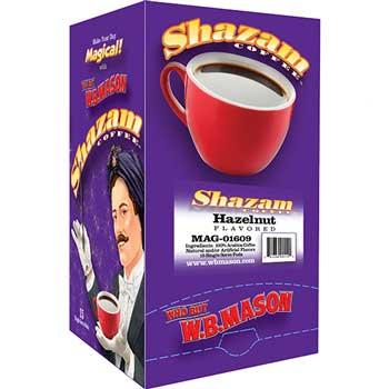 Shazam™ Coffee Pods, Hazelnut, 15/BX