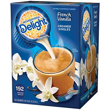 French Vanilla Liquid Coffee Creamer, 0.44 oz. Single-Serve Cups, 192/CT