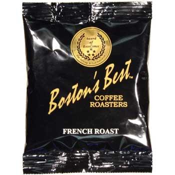 Boston's Best Coffee Roasters French Roast, 2.5 ounces, 40/CS