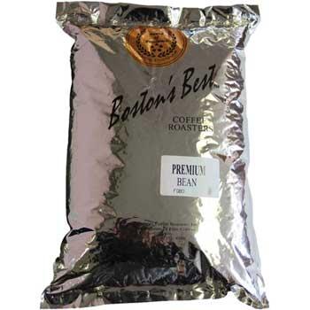Boston's Best Coffee Roasters Whole Bean Coffee, Premium Blend, Medium Roast, 5 lb. Bag