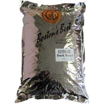 Boston's Best Coffee Roasters Whole Bean Coffee, Ultimate Roast™, Medium-Dark Roast, 5 lb. Bag
