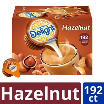 International Delight® Hazelnut Liquid Creamer Singles, 0.50 fl oz, 192/CS