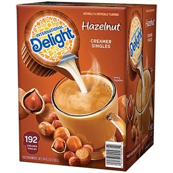 Hazelnut Liquid Coffee Creamer, 0.44 oz. Single-Serve Cups, 192/CT