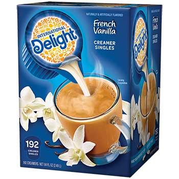 French Vanilla Liquid Coffee Creamer, 0.44 oz. Single-Serve Cups, 192/CT