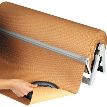 "W.B. Mason Co. Indented Kraft Paper Roll, 60# , 18"" x 300', Kraft"
