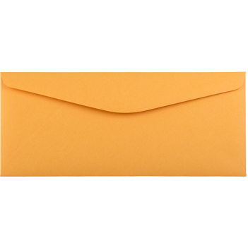 "#11 Recycled Envelopes, 4 1/2"" x 10 3/8"", Brown Kraft Manila, 50/PK"