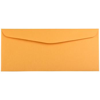"""JAM Paper® #14 Recycled Envelopes, 5"""" x 11 1/2"""", Brown Kraft Manila, 25/PK"""