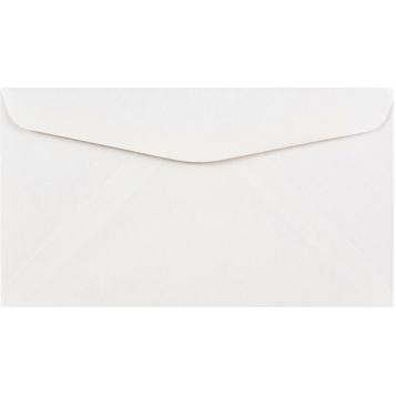 """JAM Paper #6 3/4"""" Business Commercial Envelopes, 3 5/8"""" x 6 1/2"""", White, 250/BX"""