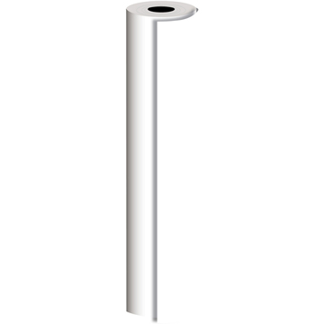 JAM Paper® Industrial Size Wrapping Paper Rolls, Matte White, 834 Sq. Ft