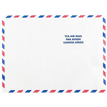 """JAM Paper Tyvek Open End Catalog Envelopes, Tear-Proof, Letter, 8 1/2"""" x 11"""", White Airmail, 50/PK"""