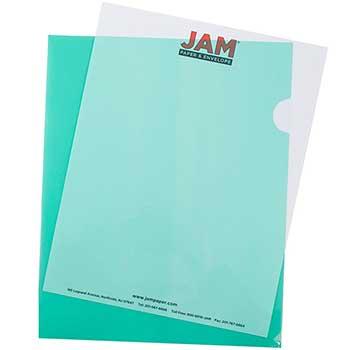 "Plastic Sleeves, 9"" x 11 1/2"", Green, 120/BX"