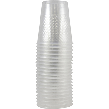Plastic Cups - 12 oz - Clear - 20/pack