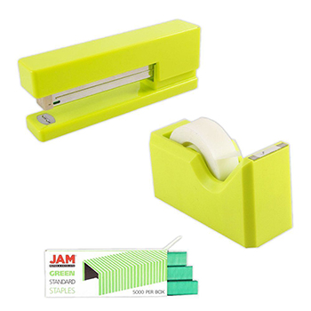 Office & Desk Sets, Lime Green and Green, 3/PK