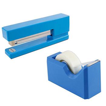 JAM Paper Office & Desk Sets, Blue, 2/PK