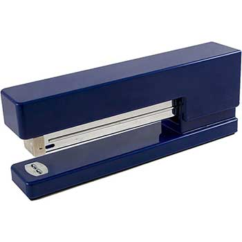 JAM Paper® Modern Desk Stapler, Navy