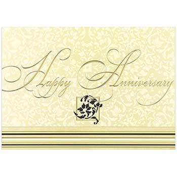 JAM Paper Anniversary Cards Set, Happy Anniversary, 25 Card Set