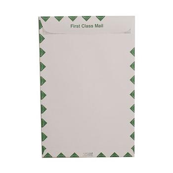 """Open End Catalog Envelopes, 10"""" x 15"""", White, 100/PK"""