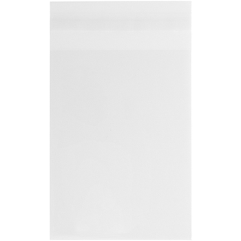 "Self-Adhesive Cello Sleeve Envelopes, A6, 4 15/16"" x 6 9/16"", Clear, 100/PK"