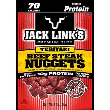 Jack Link's Beef Nuggets, Teriyaki , 1 oz., 48/CS