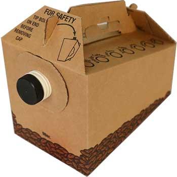 96 oz. Brown Joe To Go Beverage Box Corr, 25/CS