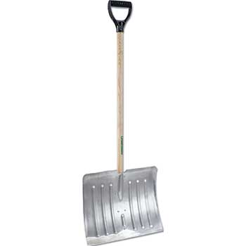 Arctic Blast 18in Aluminum Snow Shovel, 51in Long
