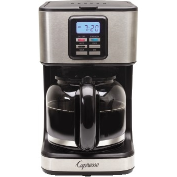 Capresso 12-Cup Stainless Steel Coffee Maker