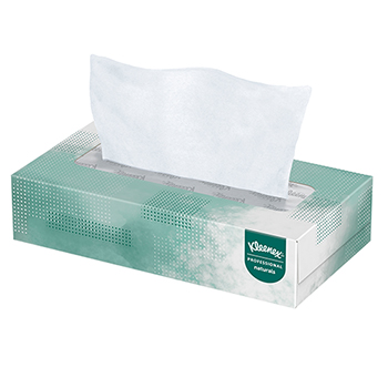 Naturals Facial Tissue, 2-Ply, White, 125/Box