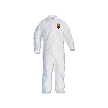 KleenGuard™ A20 Breathable Particle Protection Coveralls, 3XL, White, 25/Carton