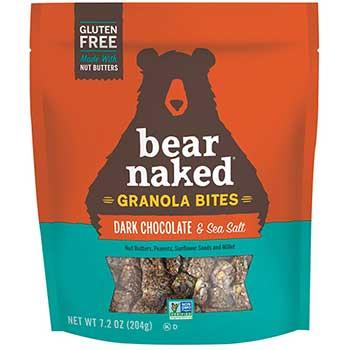 Bear Naked® Granola Bites, Dark Chocolate Sea Salt, 7.2 oz., 6/CS