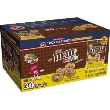 M&M Cookies, 1.6 oz., 30/CT