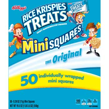 Kellogg's® Rice Krispie Treats® Minis Office Pack, 50/BX