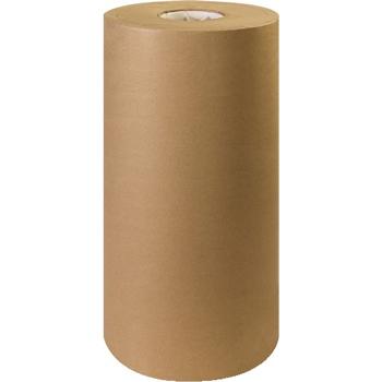 """W.B. Mason Co. Kraft Paper Roll, 30#, 18"""" x 1,200', Kraft"""