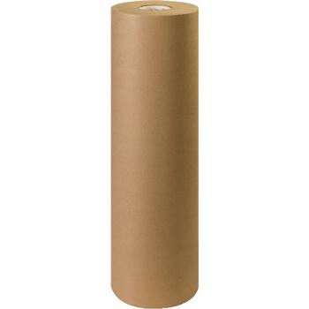 """W.B. Mason Co. Kraft Paper Roll, 60#, 30"""", Kraft"""