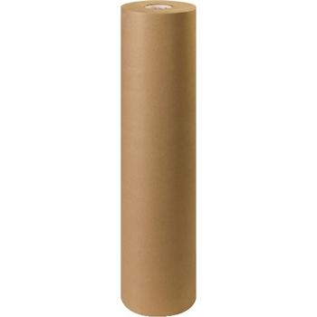 """W.B. Mason Co. Kraft Paper Roll, 30#, 36"""" x 1,200', Kraft"""