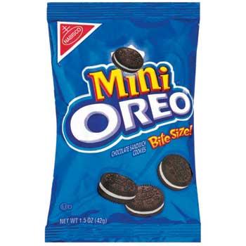 Oreo® Mini Bite-Size Cookies, 1.5 oz., 60/CS