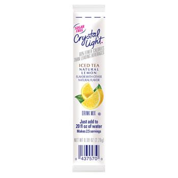 Crystal Light® Flavor Sticks, Iced Tea, 30/BX