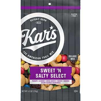 Kar's Sweet 'N Salty Select Deluxe Mix, Fresh Harvest, 5.5 oz. Bag, 12/CS