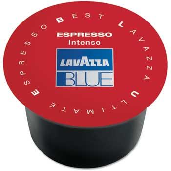 Lavazza BLUE Coffee Capsule, Intenso, Medium, 100/CS