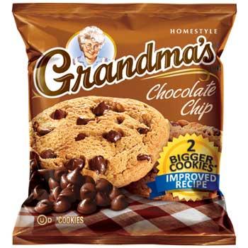Grandma's® Big Chocolate Chip Cookie, 2.5 oz., 60/CS